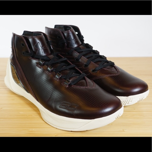 check out 84ad9 e0b9a Under Armour Curry 3 Lux Limited Edition Leather